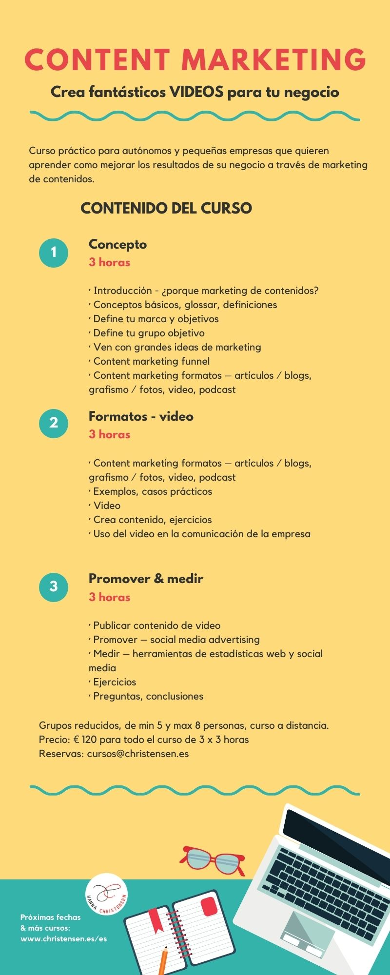course: content marketing video